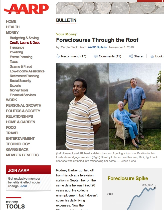AARP foreclosures