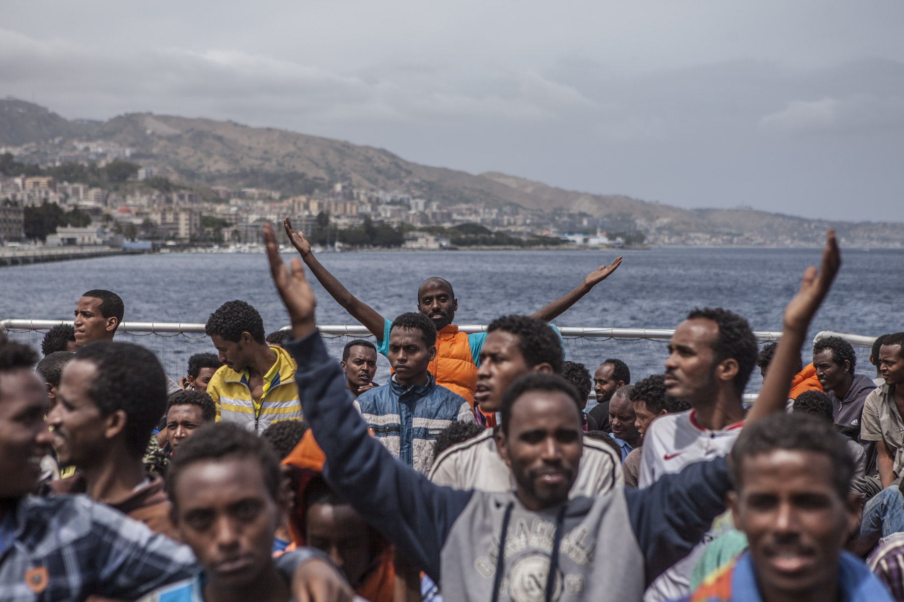 Migrant rescues in the Mediterranean