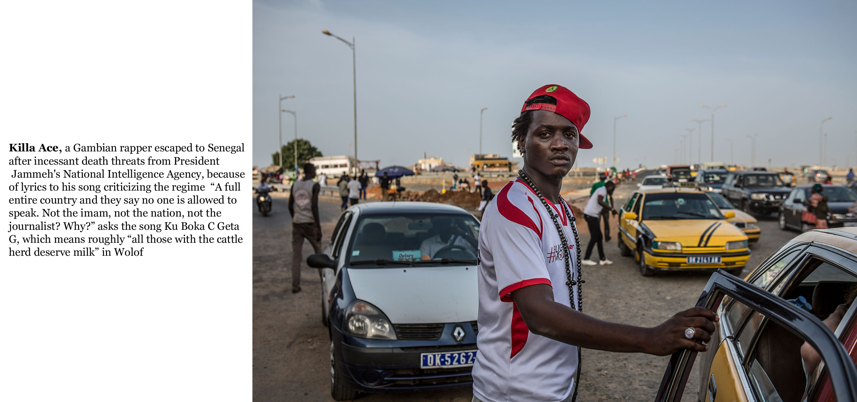 Gambia victims and resisters -Rapper, Killa Ace exiled to Senegal after multiple death threats-06_TEXT_web ©Jason Florio
