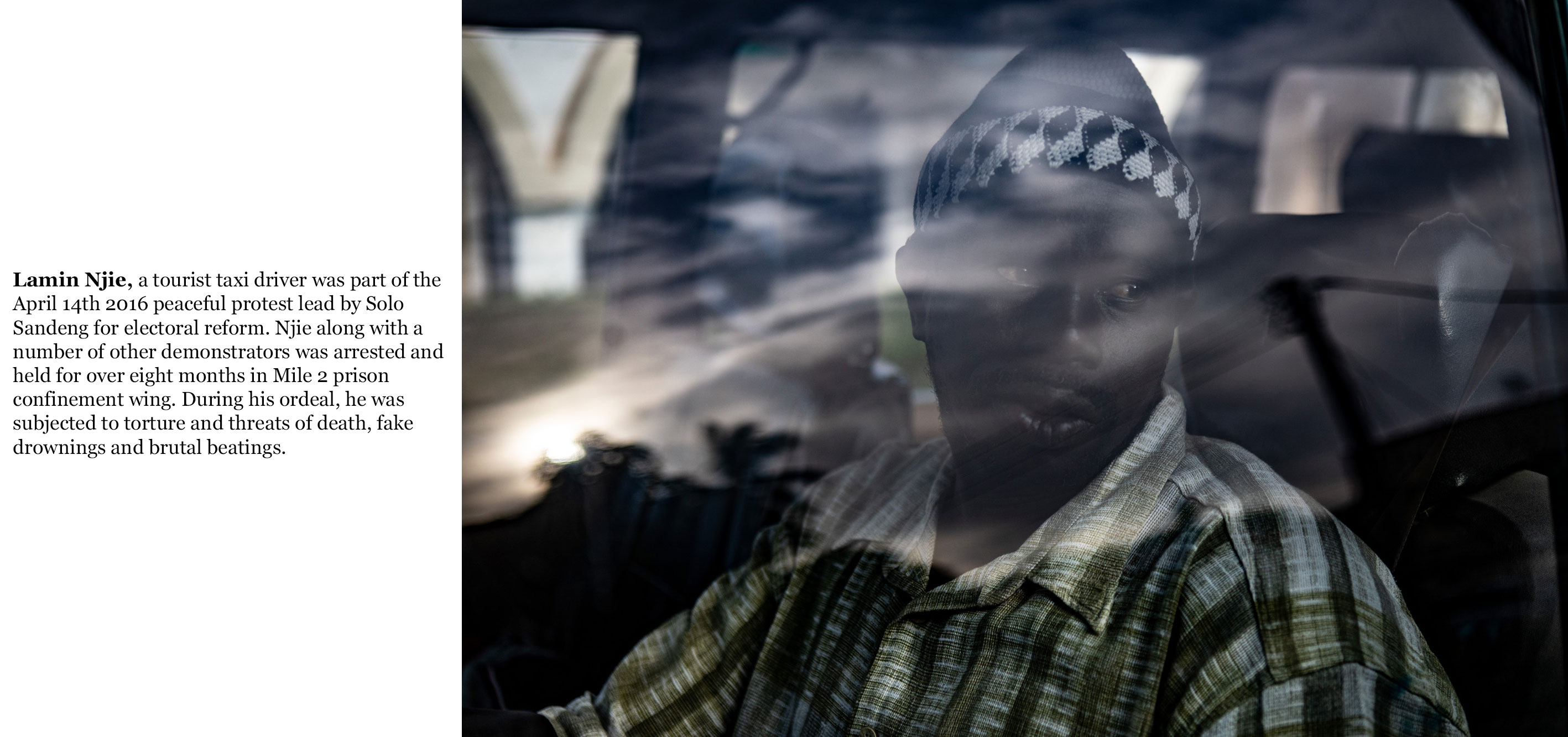 Gambia victims, and resisters - held unlawfully in Mile 2 Prison, lamin_njie-4215_TEXT_WEB