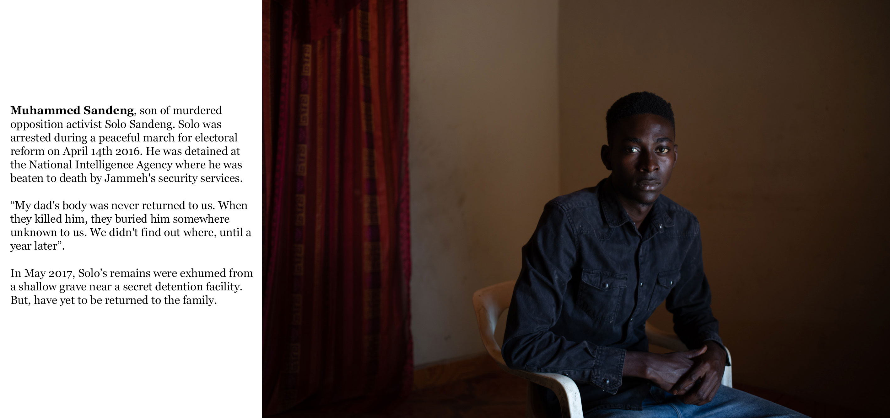 Gambia victims and resisters -muhammed_sandeng, son of murdered opposition leader, Solo Sandeng-0723_TEXT_WEB