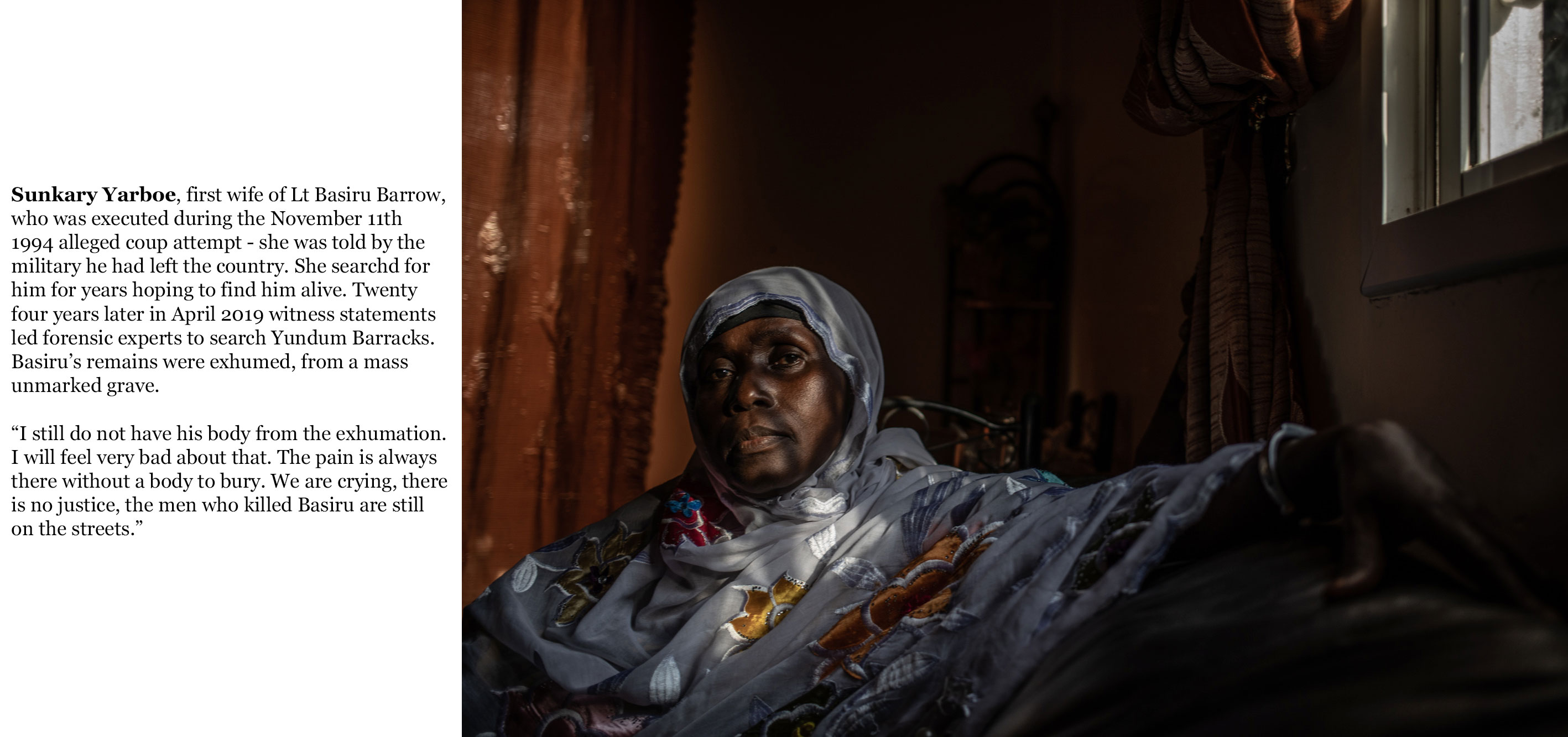 Gambia victims and resisters - sunkary_yarbo, wife of Lt Basiru Barrow, executed after 1994 coup attempt -0547_TEXT_WEB